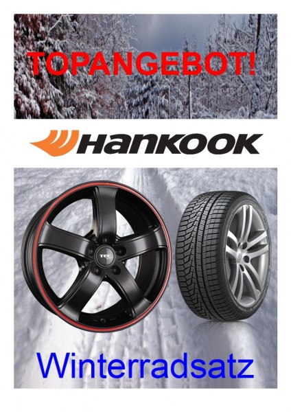 "TEC AS1 17"" mit 225/60 Hankook Winterreifen VW Tiguan 5N AD1"
