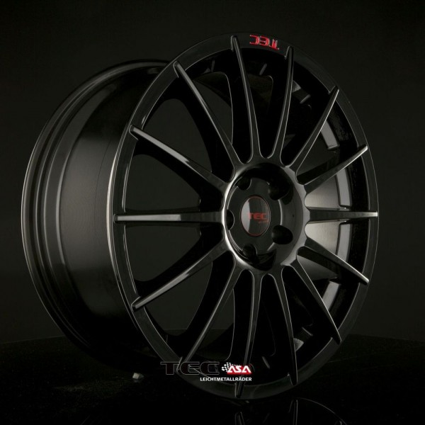 "TEC AS2 Black-Glossy 18"" für BMW 1er Limo Coupe Cabrio F20 F21 E81 E87 E81 E82"