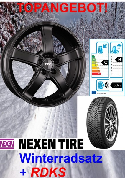 "TEC AS1 16"" mit 215/65 Nexen Winterreifen Opel Mokka Mokka X-Copy"