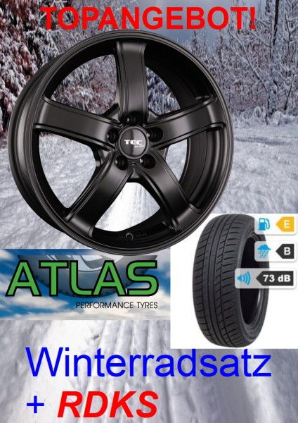 "TEC AS1 17"" mit 225/60 Atlas Winterreifen Hyundai Tucson TLE"
