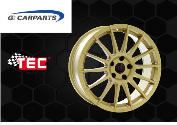 "ASA TEC AS2 19"" Gold Seat Leon 5F Cupra 290 280 Performance Brembo 370mm Bremse"