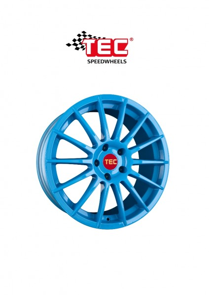 "TEC AS2 17"" Race-Blue Fiat 500 Abarth 500C Alfa Mito Ford KA 2"