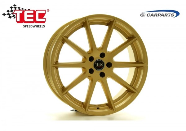 "TEC GT7 Gold 19"" für Ford Focus ST DA3 DB3 DYB Eco Boost RS 2.5"