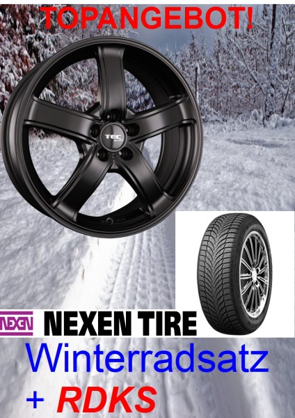 "TEC AS1 17"" mit 235/55 Nexen Winterreifen Ford Kuga DM2"
