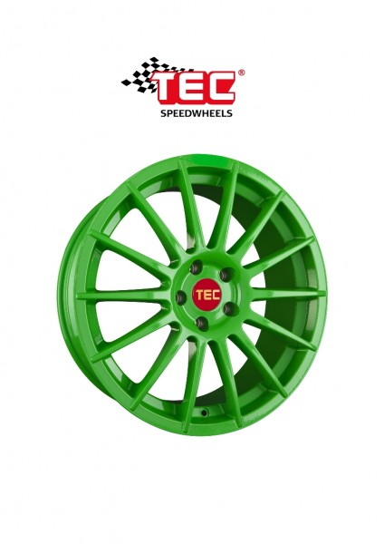 "TEC AS2 17"" Race-Green Fiat 500 Abarth 500C Alfa Mito Ford KA 2"